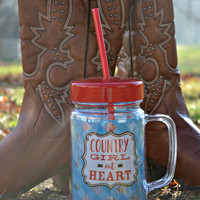 """Country Girl"" Tumbler - 24 oz"