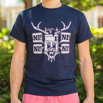 Knights Who Say Ni [Monty Python & Holy Grail Inspired] Men's T-Shirt