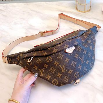 Louis Vuitton LV Fashion Women Leather Purse Chest Bag Waist Bag Shoulder Bag