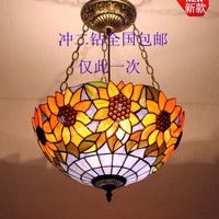 Special Offer The Entrance Hallway Stairs Lamp Glass Chandelier Lamp - Retro Pastoral