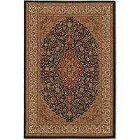 Couristan Izmir All Over Heriz/Ebony Rug - 7001/0001