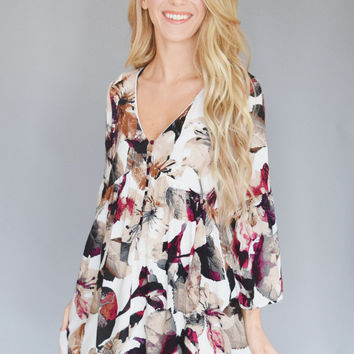 Emerson Berry Floral Dress