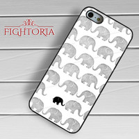 baby elephant mother-1y44 for iPhone 4/4S/5/5S/5C/6/ 6+,samsung S3/S4/S5,S6 Regular,S6 edge,samsung note 3/4