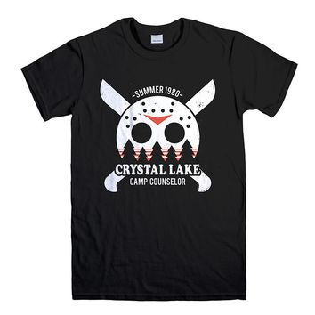 CAMP CRYSTAL LAKE COUNSELOR FRIDAY THE 13TH Men's T-Shirt