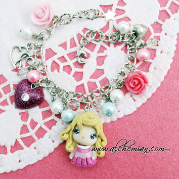 Aurora Sleeping Beauty disney princess handmade by AlchemianShop