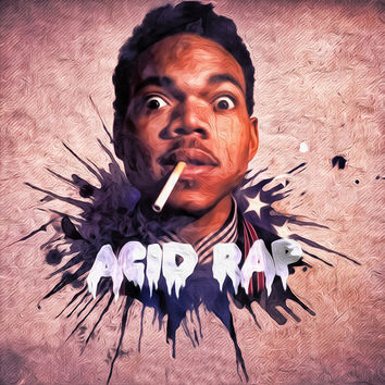 Chance the Rapper Acid Rap Album Cover Poster
