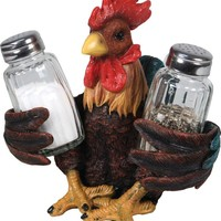 Salt & Pepper Shaker Set - Rooster