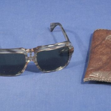 Vintage Ray Ban Magellan Retro B+L Bausch and Lomb Sunglasses Cool Striped Trim