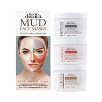 Body Drench Mud Face Masks Instant Skin Boosters