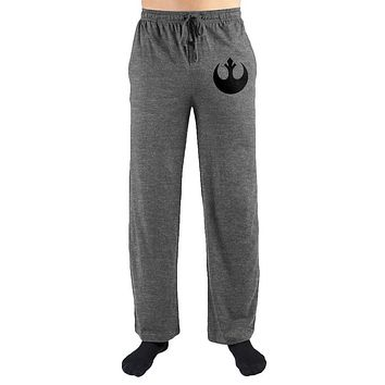 MPSP Star Wars Rebel Alliance Insignia Men's Loungewear Pajama Lounge Pants