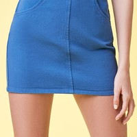 Lottie Moss Denim Mini Skirt at PacSun.com