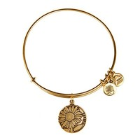 Alex and Ani Niece Charm Bangle - Russian Gold