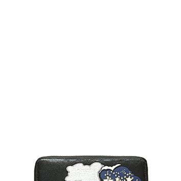 Cartoon Leather Continental Wallet - Marc Jacobs