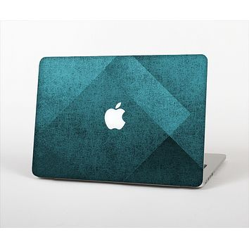 "The Vinatge Blue Overlapping Cubes Skin Set for the Apple MacBook Pro 13"" with Retina Display"