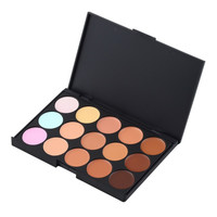 Professional Concealer Palette15 Color Makeup Facial Concealer Camouflage Cream Palette Cosmetic Makeup base Palettes Cosmetic