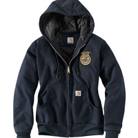 WOMENS CARHARTT HOODED JACKET
