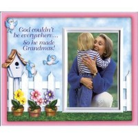 God Couldn't be Everywhere...So He made Grandmas! - Picture Frame Gift