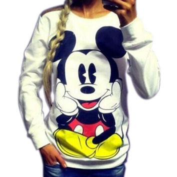 AOWOFS Mickey Mouse Sweatshirt DF-362
