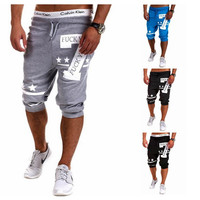 Hot Sale Casual Plus Size Print Strong Character Shorts = 6458320003
