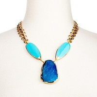 Turquoise Fire Agate Nari Necklace