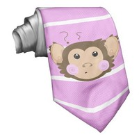 Confuse Monkey Custom Ties