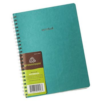 Greenroom Flexible Leather Blank Journal
