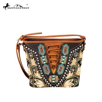 Embroidered Collection Concealed Handgun Crossbody