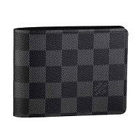 Louis Vuitton Damier Graphite Canvas Multiple Black N62663