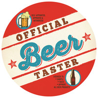 Anderson Design Group's Official Beer Taster Circle Decal