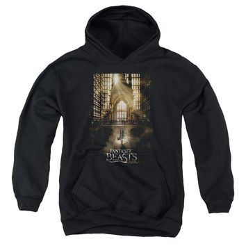 Fantastic Beasts - Poster Youth Pull Over Hoodie