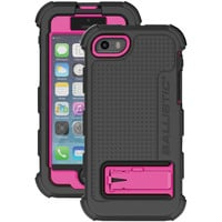 Ballistic Iphone 5 And 5s Hard Core Case With Holster (hot Pink And Black)