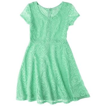Cherokee®  Girls' Lace Dress - Assorted