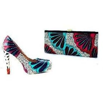 CHLOE  African Shoe And Matching Bag Set
