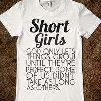 Supermarket: Short Girls Juniors T-Shirt from Glamfoxx Shirts