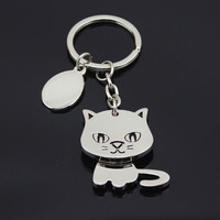 Adorable 'Zen Kitty' Cat Keychain FREE SHiPPiNG