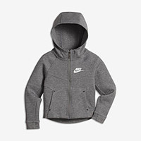 The Nike Sportswear Tech Fleece Little Kids' Hoodie.