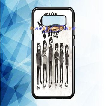 Motionless In White (monster cartoon) Samsung Galaxy Note 8 Case Planetscase.com