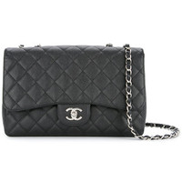 Chanel Vintage Quilted Double Chain Bag - Farfetch