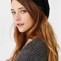 Textured Double-Layered Beret-