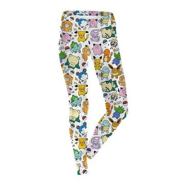 Cute Pokemon Leggings