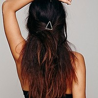 Free People Womens Metal Symbol Hair Pin -