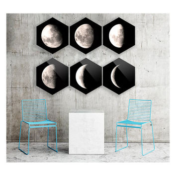 Diamond Moon - (set of 6)