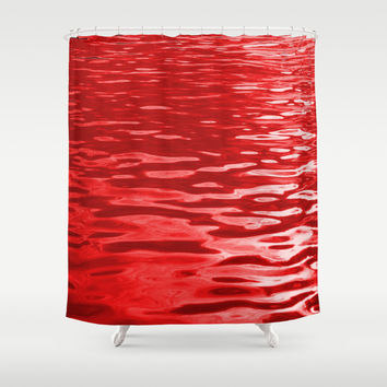 Bloody Waters Shower Curtain by Moonshine Paradise