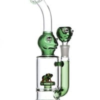 Boo Glass Frog Themed Water Pipe