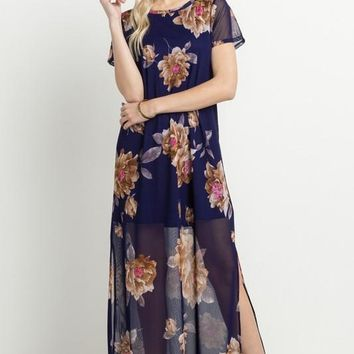 On the Other Side Sheer Maxi Dress