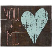 You + Me Wood Sign | Hobby Lobby | 1122746