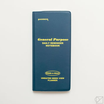 Penco General Purpose Weekly Planner Blue