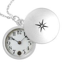 Old Pocket Watch Necklace