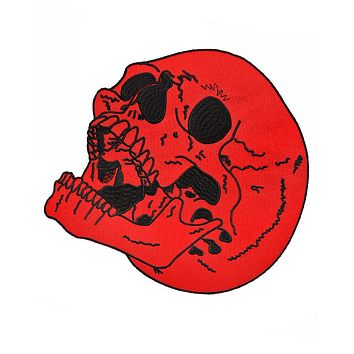 Blood Skull Back Patch