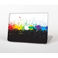 "The Rainbow Paint Spatter Skin Set for the Apple MacBook Pro 15"" with Retina Display"